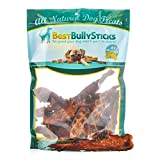 Premium USA Chicken Jerky Dog Treats by Best Bully Sticks (8oz. Bag) Made in the USA, All Natural Oven Baked Chicken Breast with No Additives, Hormones or Unhealthy Chemicals - USDA/FDA Approved