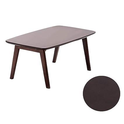 Rubberwood Coffee Table.Amazon Com Nosterappou Rubber Wood Coffee Table Sturdy Rubber Wood