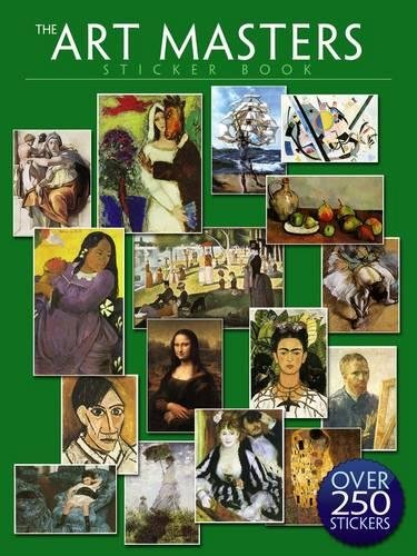 The Art Masters Sticker Book: Over 250 Stickers - Art Cabochon