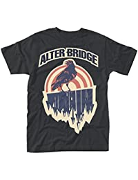 Mens Alter Bridge Crow Official Tee T-Shirt Mens Unisex