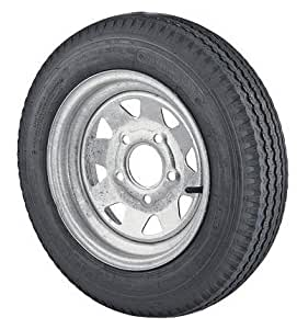 14 inch galvanized spoke trailer wheel and 205 75r14 radial special trailer tire. Black Bedroom Furniture Sets. Home Design Ideas