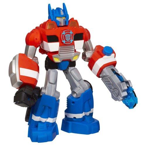 Optimus Prime Electronic (Transformers Playskool Heroes Rescue Bots Energize Electronic Optimus Prime Figure)