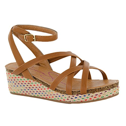Price comparison product image New Jessica Simpson Orleans Tan 2 Kids Sandals