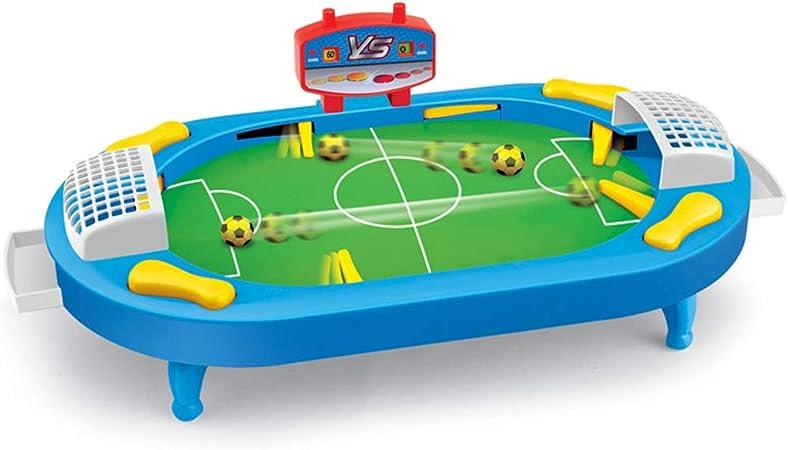 BXWQPP Futbolín Juego de Mesa Baby Foot Infantil para Niños Fútbolista Deporte Patada de Mesa Juegos Padres Hijos Mesa de Fútbol Futbolín de Sobremesa: Amazon.es: Hogar