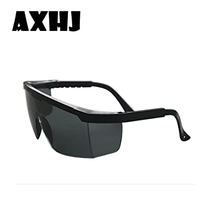 396c9a7a70 Amazon.com   Laser Eye Protection Safety Glasses Eyewear Goggles Anti-Fog  (black)   Garden   Outdoor