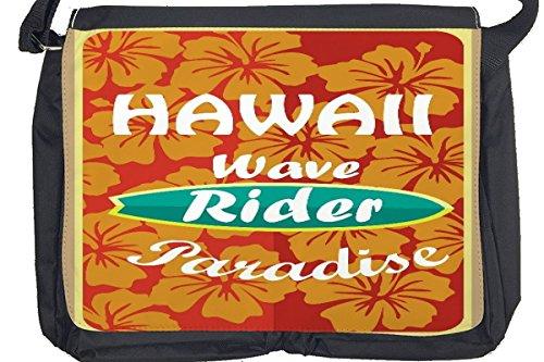 Borsa Tracolla Vacanza Agenzia Viaggi Onda di Hawaii Stampato