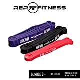 Rep Fitness Red, Black, Purple Pull-Up Bands Bundle Review