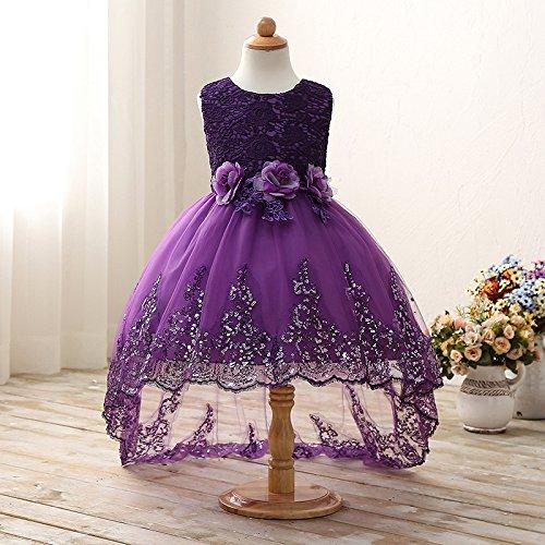 Niños RONG Traje De Vestido De Violet Vestido XIU xPYwqROq