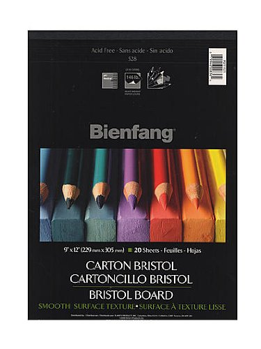 Bienfang Drawing Bristol smooth 9 in. x 12 in. [PACK OF 2 ] by Bienfang
