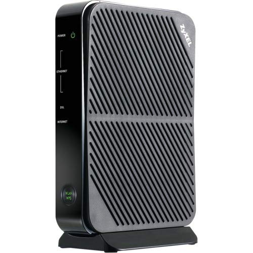 ZYXEL Adsl/ Adsl2+ WiFi Router with Built-in Modem Compatible with CenturyLink, Frontier, AT&T and Other Broadband Providers [P660HN-51]