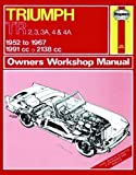 Triumph TR2, 3, 3A, 4, 4A (Service & repair manuals) by Maclay, J.L.S., Hunt, B.L.Chalmers- published by J H Haynes & Co Ltd (1988)