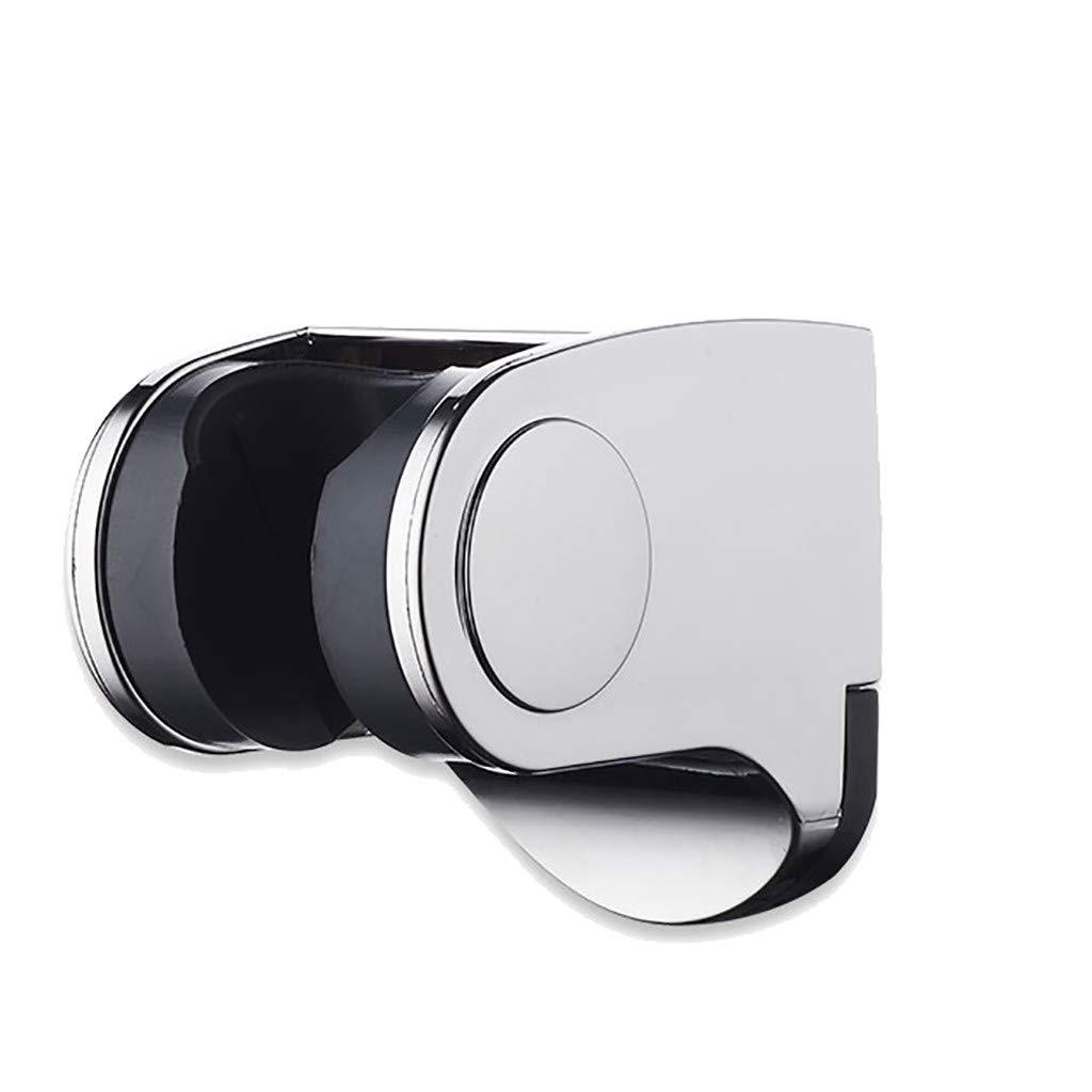 Mr.Macy Shower Head Handset Holder Chrome Bathroom Wall Mount Adjustable Bracket by Mr.Macy (Image #1)