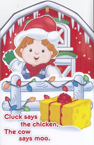 Cow Little Moo (Greeting Christmas Card Little People