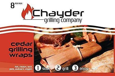 En venta ahora: la mejor Cedar Grilling Wraps para parrilla ...
