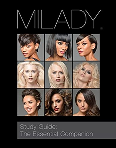 study guide the essential companion for milady standard cosmetology rh amazon com School Answer Keys milady study guide the essential companion answer key