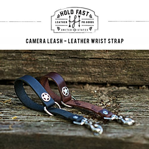 HoldFast Gear Camera Leash, Water Buffalo, Black by HoldFast