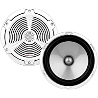 BOSS Audio MR752C 400 Watt (Per Pair), 7.5 Inch, Full Range, 2 Way Marine Component Speaker System (Sold In Pairs)