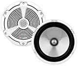 BOSS Audio MR652C - 350 Watt (Per Pair), 6.5 Inch, Full Range, 2 Way Marine Component Speaker System (Sold In Pairs)
