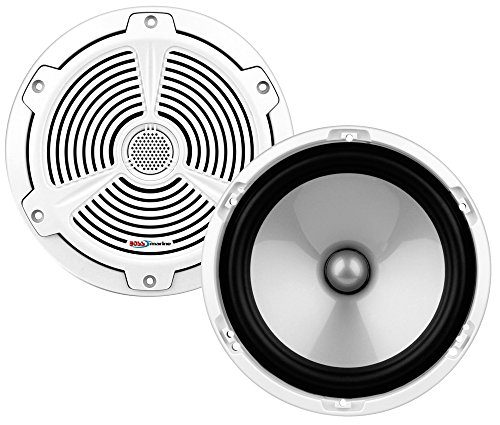 BOSS Audio MR652C 350 Watt (Per Pair), 6.5 Inch, Full Range, 2 Way Marine Component Speaker System (Sold In (Porsche 911 Fiberglass)