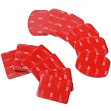 XCSOURCE 12 Piece Helmet Accessory Kit + Flat Curved Mount Adhesive For Gopro Hero 1/2/3 OS85