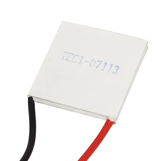 Amazon.com: eDealMax Módulo TEC1-07113 8.4V 13A refrigerador termoeléctrico de refrigeración Peltier Plate: Electronics