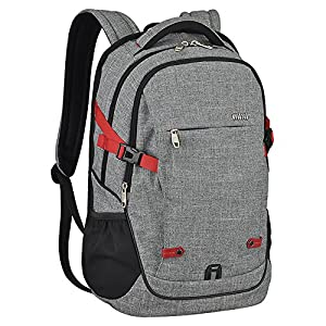 Mixi Laptop Backpack Water Resistant Unisex Rucksack Shoulder Backpacks Daypack for Business Working Hiking School Travel