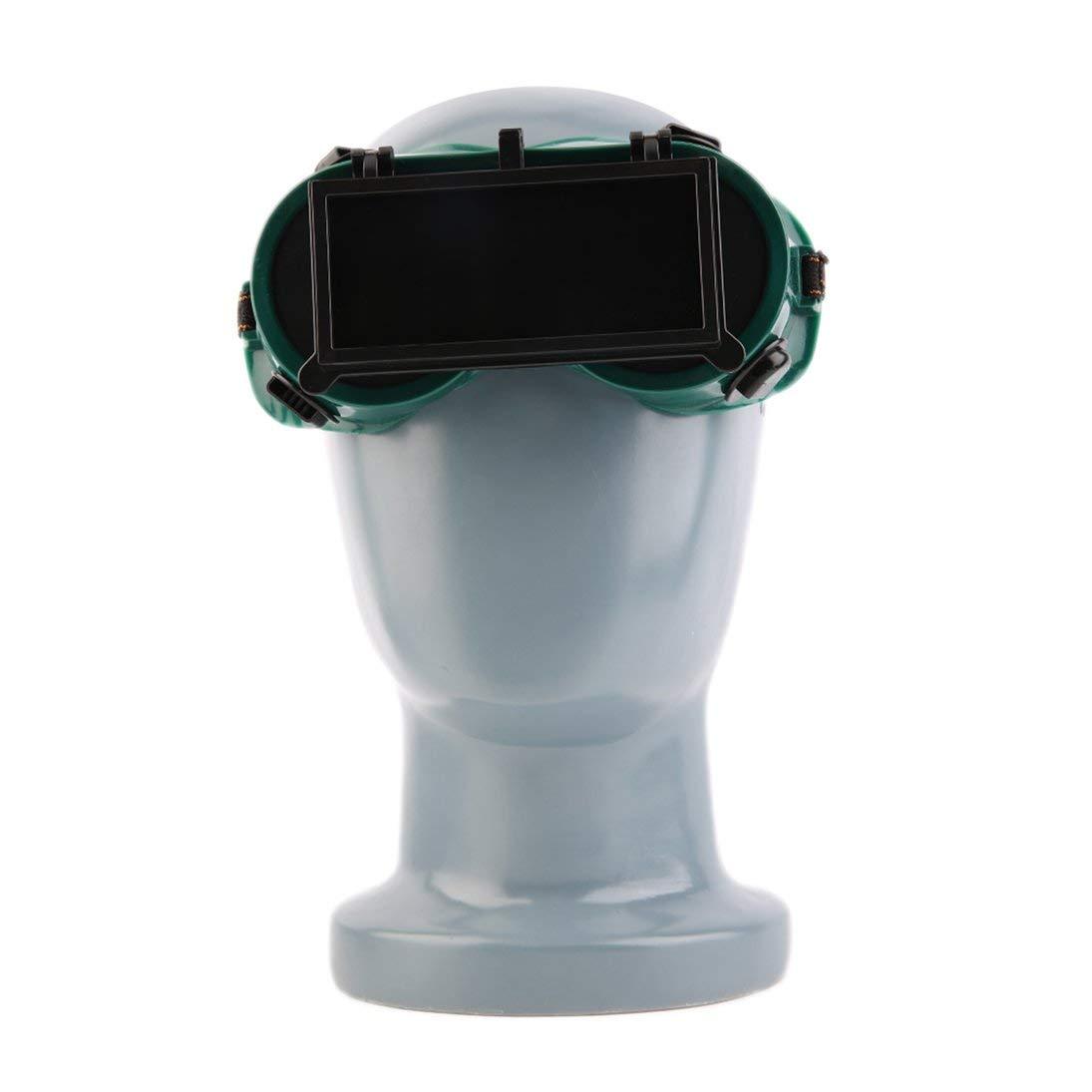 S/úper Ofertas Gafas de soldar Gafas de soldar port/átiles con Tapa Protectora Gafas de Lija ToGames-ES