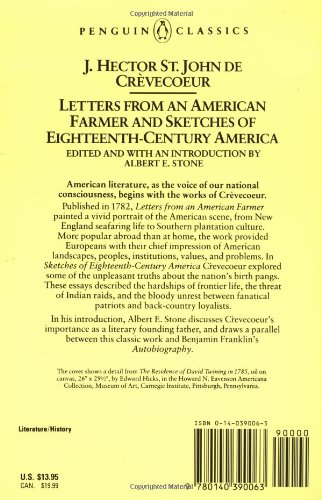 summary from letter iii what is an american by john crevecoeur Moore's edition of letters from an american farmer and other essays naturalized american writer j hector st john de editions of letters from an american.