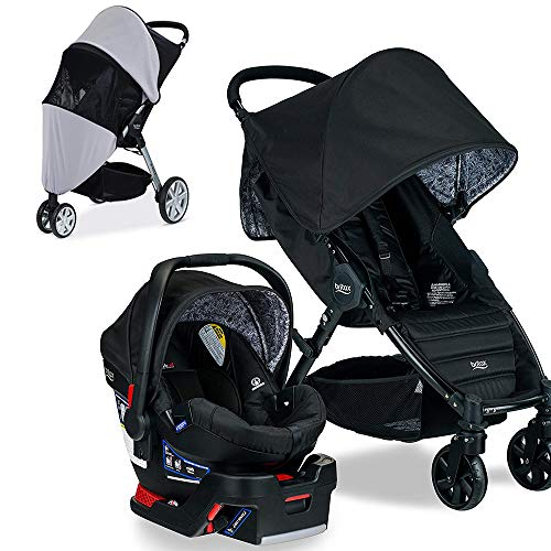 Britax Pathway & B-Safe 35 Travel System, Sketch with Suncov