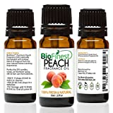 BioFinest Peach Fragrance Oil - 100% Pure & Natural - Fresh Home Scent - Air Refresher - Relaxing Aromatherapy - Skin and Hair Care - FREE E-Book (10ml)