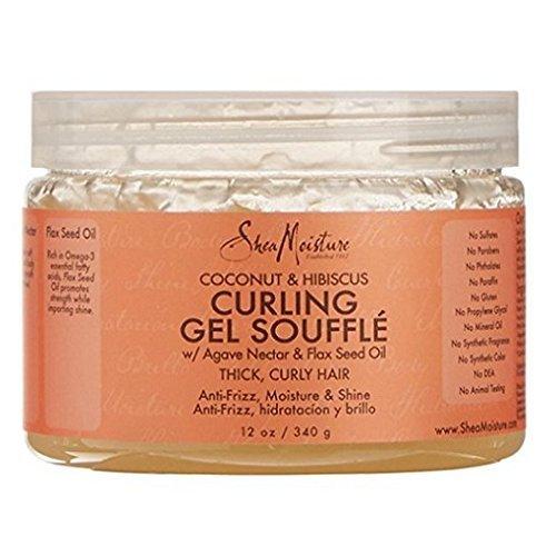 Shea Moisture Coconut & Hibiscus Gel Souffle 12 Ounce