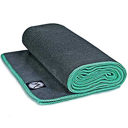 Amazon.com : Youphoria Hot Yoga Towel - 5 Pack - Gray Hot ...