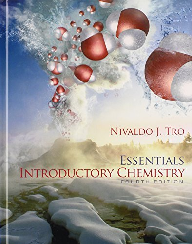 By Nivaldo J. Tro Introductory Chemistry Essentials & Modified MasteringChemistry with Pearson eText -- ValuePack Acce (4th Fourth Edition) [Hardcover] pdf epub