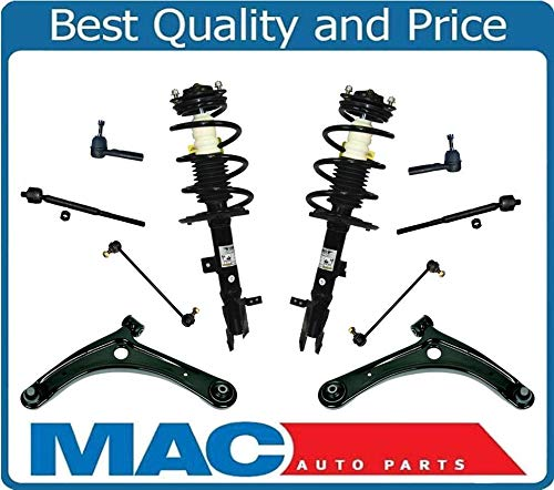 Lower Control Arms Ball Joints Tie Rods Links Springs Struts Compass 07-15 ()