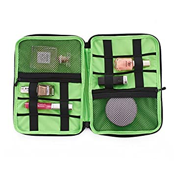 5ffc7c21b88f Amazon.com: SPATTR Travel case MakeUp Organizer Electronic ...