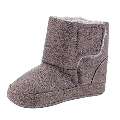 Tronet Baby Soft Sole Boot, Winter Toddler Girls Solid Keep Warm First Walker Casual Shoes