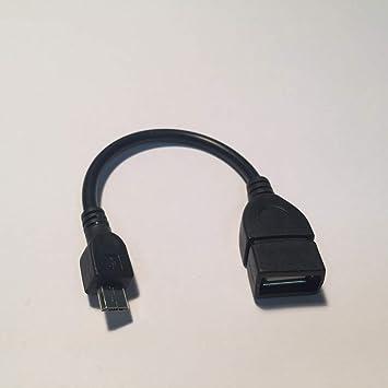 Cable Adaptador micro USB macho para OTG mujer para el teléfono ...