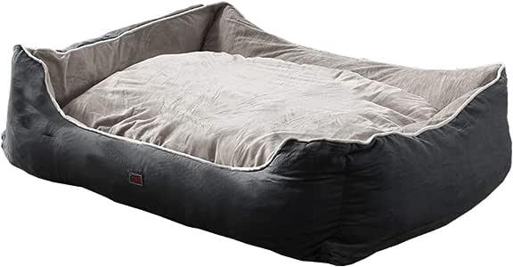 PaWz Pet Bed Dog Beds Mattress Bedding Cover Calming Cushion Grey M 70x60x22cm 70x60x22cm