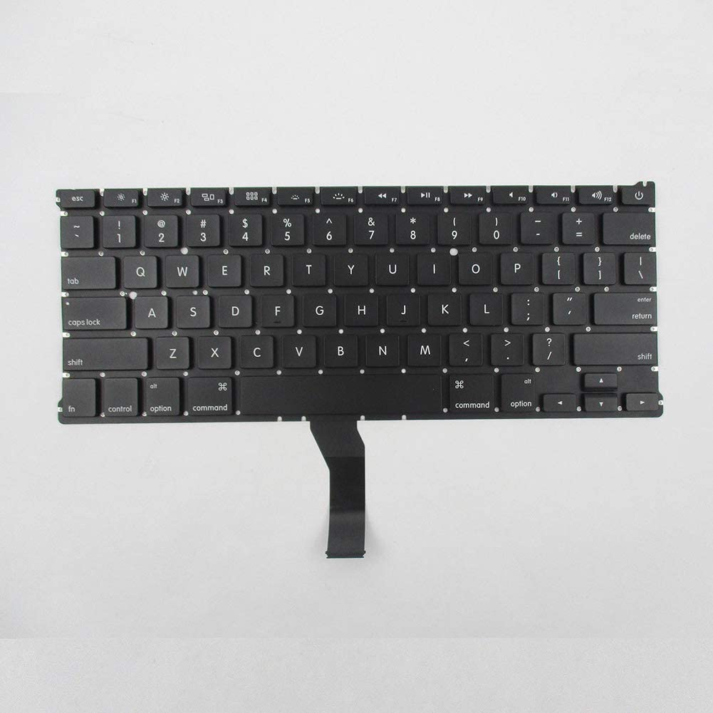 Connoworld Computer Keyboard US Version PC Laptop Keyboard for Apple MacBook Air MD760LL//A A1466 EMC 2632