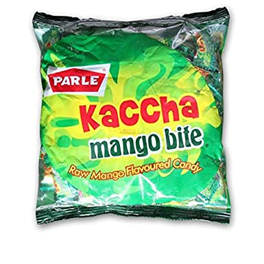 Parle Kaccha Mango Bite, 277g Hard Candies at amazon