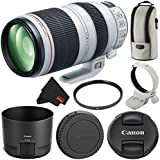 Canon EF 100-400mm f/4.5-5.6L IS II USM Zoom Lens International Version (No Warranty) Starter Bundle