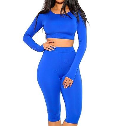 Amazon.com: Juego de 2 piezas de ropa deportiva sexy para ...