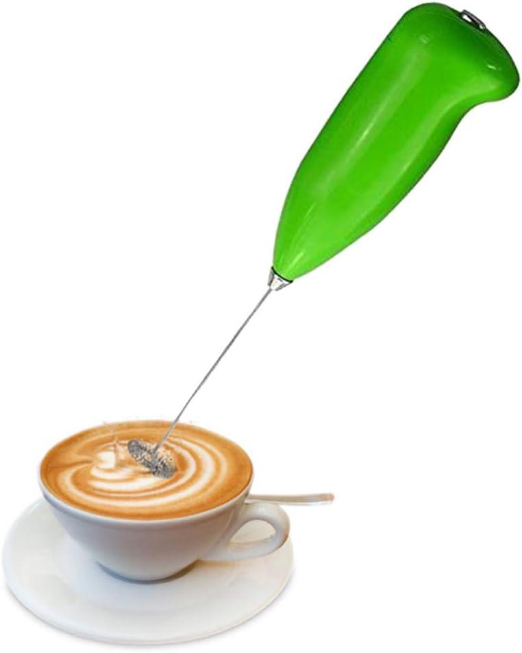 cappuccino m/élangeur de boissons longue dur/ée avec fouet en acier inoxydable Machine /à mousse /électrique /à batterie pour caf/é lait chocolat chaud