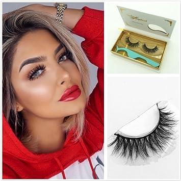 c5987525a90 Amazon.com : 3D36 Lahses1 pair 3D Handmade Thick Mink Eyelashes Natural  False Eyelashes for Beauty Makeup fake Eye Lashes Extension (3D16) : Beauty