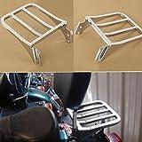 XFMT Chrome Sissy Bar Backrest Sport Detachable Luggage Rack for Harley Softail FLSTF FLST FLSTC FLSTSC 2006-2018