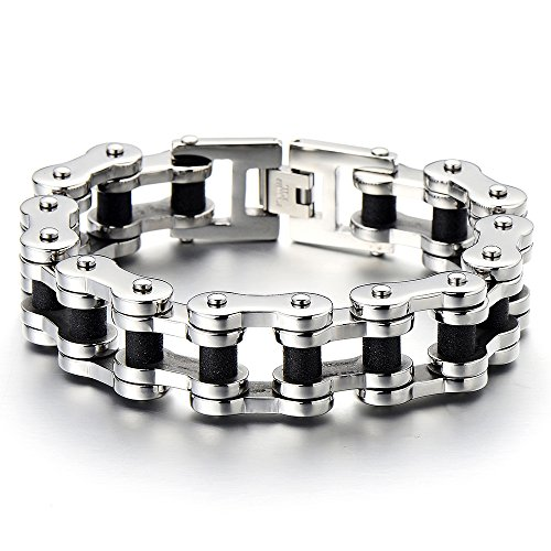Exquisite Bracelet Stainless Two tone Polished