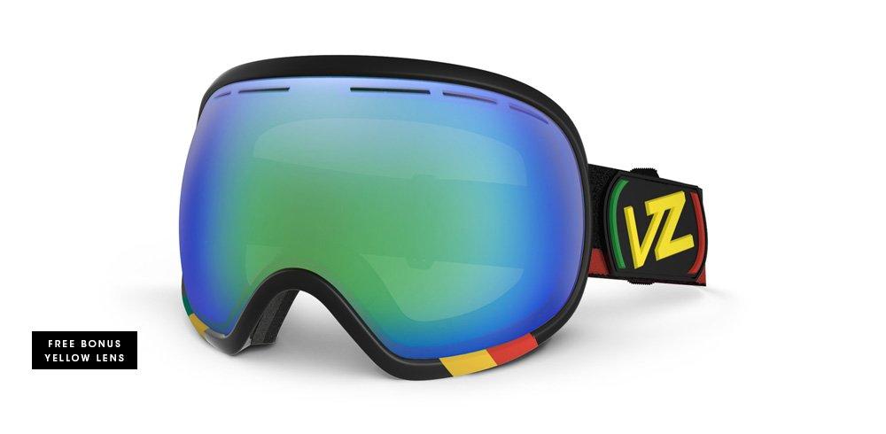 Vonzipper pecera esférica gafas para la nieve, Unisex hombre mujer, Vibrations/Quasar Chrome: Amazon.es: Deportes y aire libre