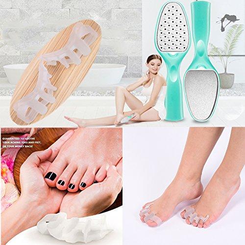 Professional Pedicure Kit Set ,Foot Rasp Foot Peel and Callus Clean Feet Dead Skin Tool Set, Nail Clipper Foot Care Kit by YAVOUN (Image #1)