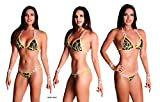Elegantfitt Competition Bikini Suit wtih 5 Connectors and Swarovski Imitation Crystals