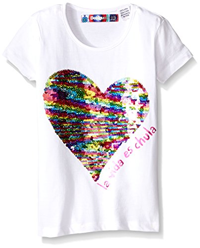 desigual girls 39 t shirt escocia desertcart. Black Bedroom Furniture Sets. Home Design Ideas